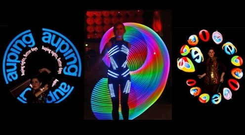 Visual Logo LED poi act
