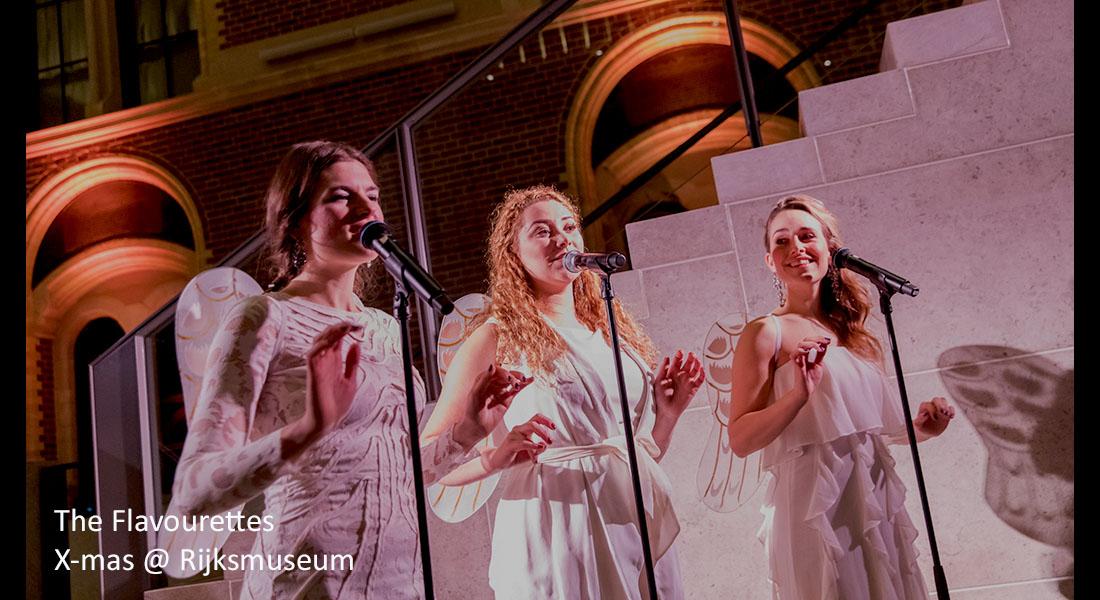 Christmas singers Flavourtettes