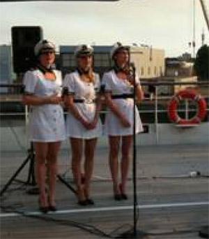 nautic theme vocal act