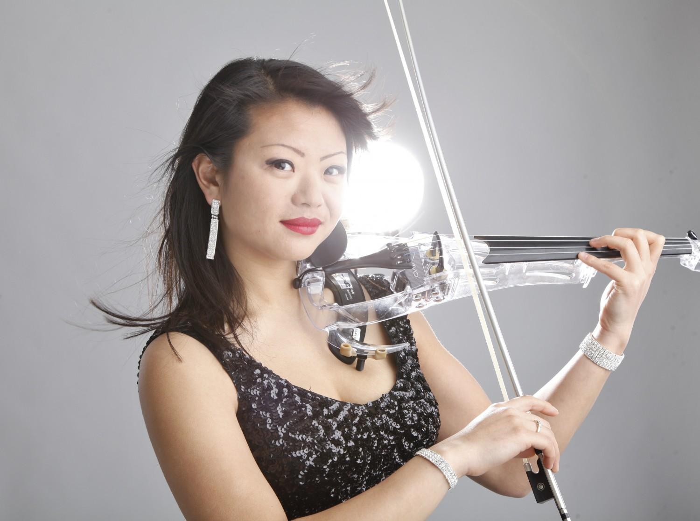 Violiste Miss Sun elektrische viool