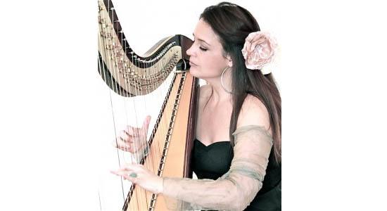 Klassieke muziek van harpiste Rose