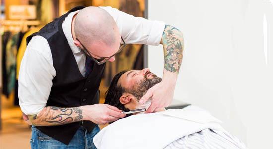 Mobiele barbier) inhuren op uw evenement