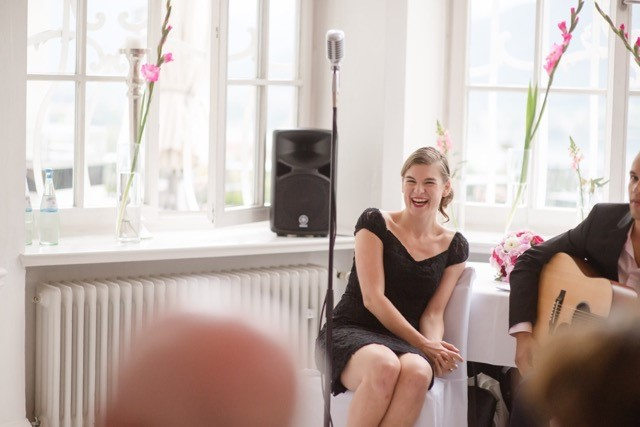 Italiaanse en allround zangeres Caterina huwelijk