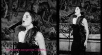 Italiaanse zangeres Caterina