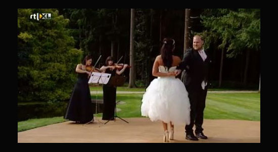 viool duo huwelijk