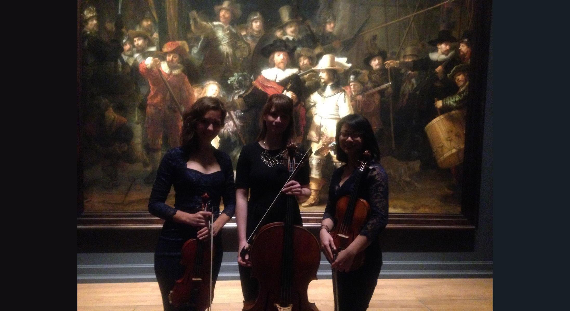 Kenzo string trio bij de Nachtwacht