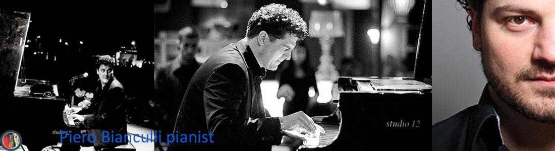 Piero Bianculli pianist jazz trio allround jazz popjazz