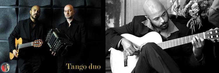 Tango duo met tango gitarist Kay