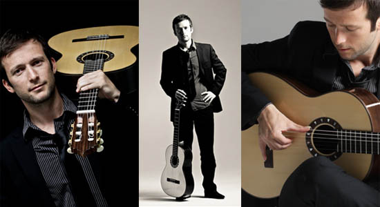 Flamenco gitarist Edsart