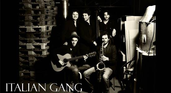Italian Gang, een 100% Italiaanse band