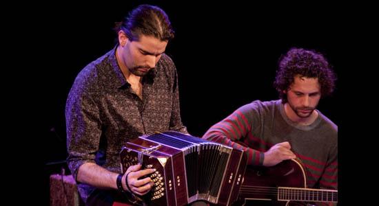 Tango duo Mendoza op bandoneon en gitaar