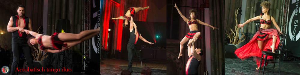 Acrobatisch tango duo