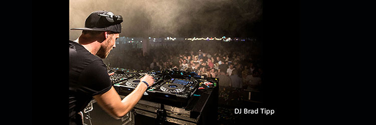 Allround DJ Brad Tipp