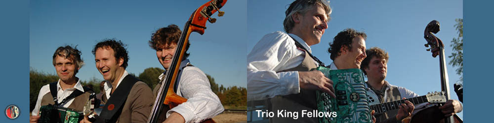 Trio King Fellows, mobiel en breed inzetbaar