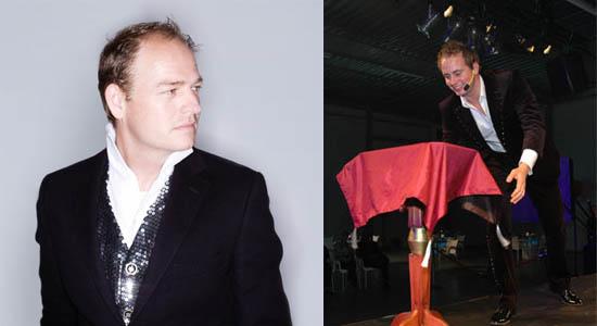 Robin Matrix, een zeer talentvolle goochelaar