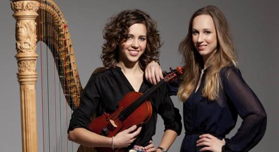 Harp-viool duo Dada