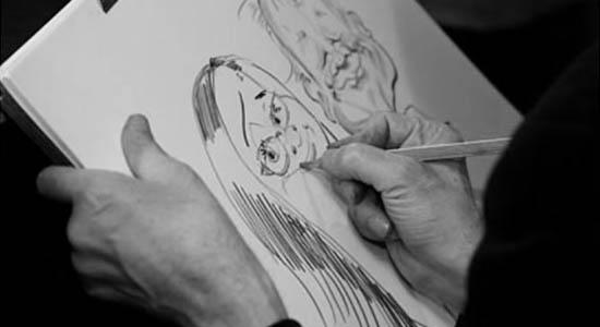 Een karikaturist als originele act op uw feest of evenement
