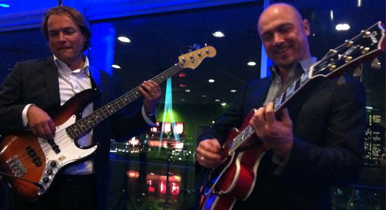 Soul-jazz duo Martini Suits