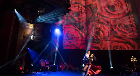 Tango dans moderne act