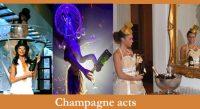 champagne ontvangst entree