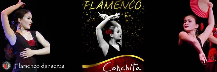 Flamenco danseres Conchita