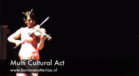 Multiculturele act