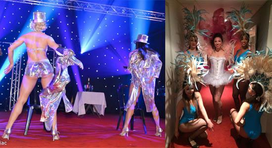 Showdanseressen Eva Las Vegas
