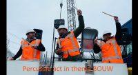Percussie act bouw openingsact