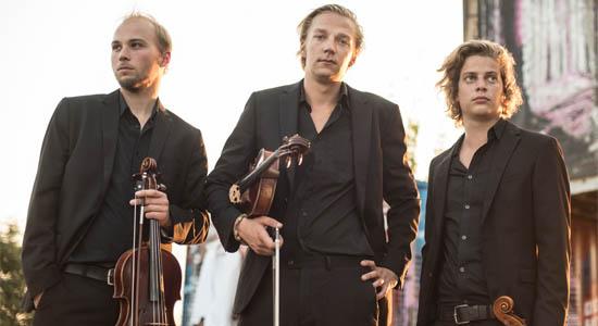 3Violas strijk trio