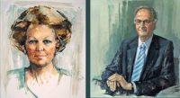 Officiëel portret in opdracht door portretschilder Annelies Hoek