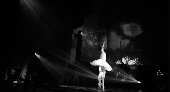 Dinner show met ballerina klassieke danseres