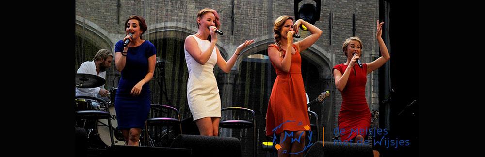Nederlandse vocal popgroep de Meisjes met de Wijsjes