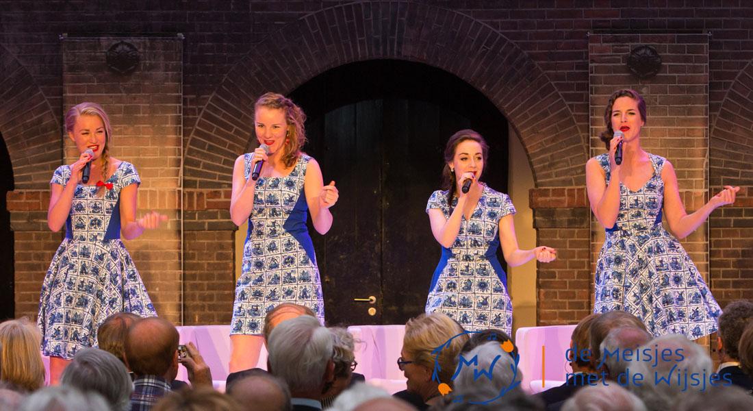 Hollandse tegeltjes jurken