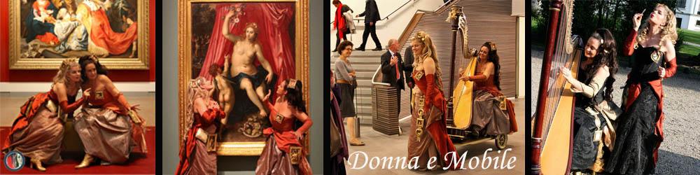 Harp sopraan duo Donna e Mobile