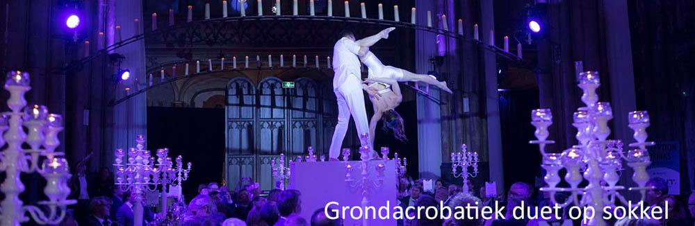 Grondacrobatiek acrobatische acts