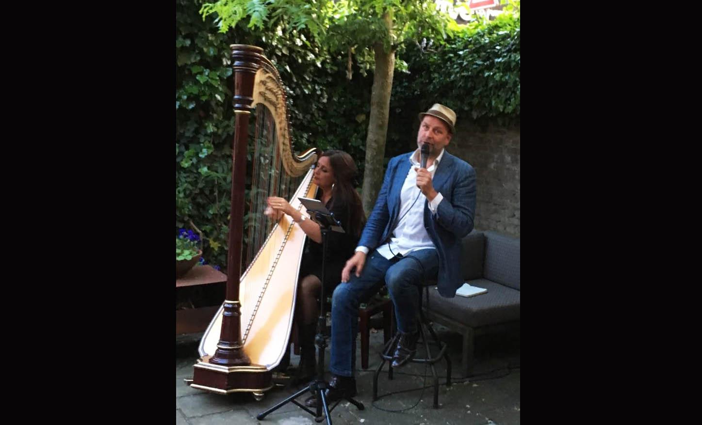 Rose en Fokker harp zang duo