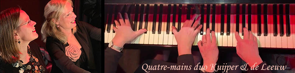 quatre-mains piano duo
