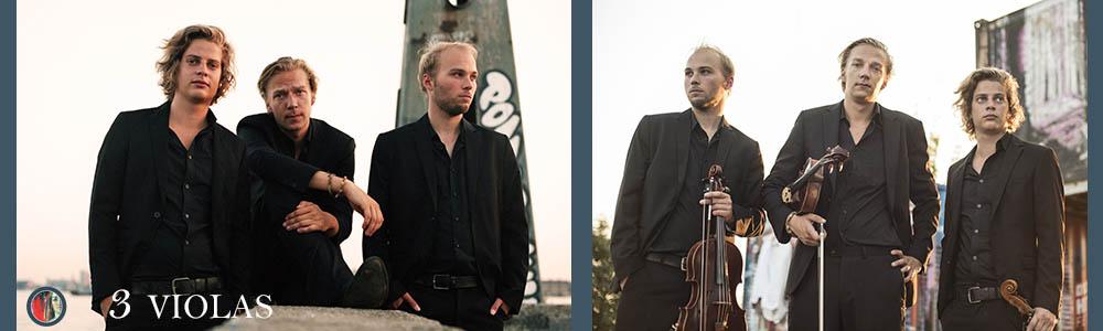 3Violas eigentijds klassiek strijk trio