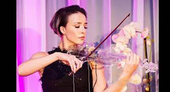 Violiste Danielle elektrische viool act