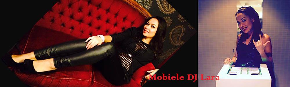 Mobiele DJ Lara, vrouwelijke all round DJ