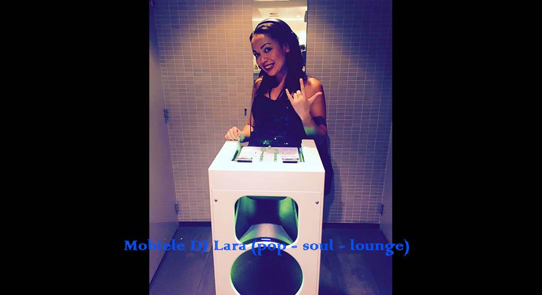 Mobiele DJ Lara - vrouwelijke DJ