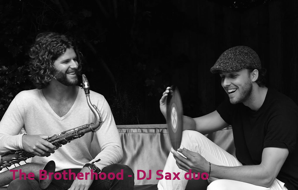 Dj sax duo The Brotherhood